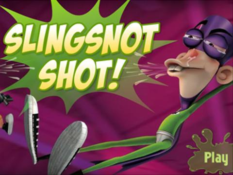 Fan Boy and Chum Chum | Slingsnot Shot