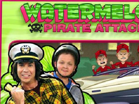 iCarly | Watermelon Pirate Attack