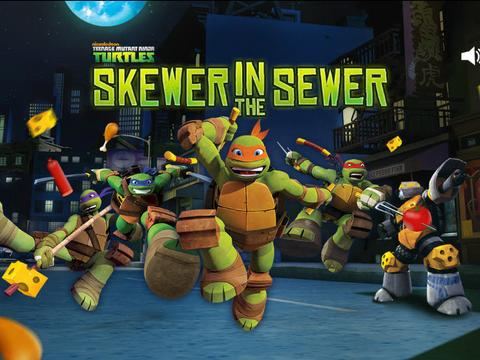 TMNT: Skewer in the Sewer