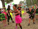 Hula Hoop Battles At Slime Cup