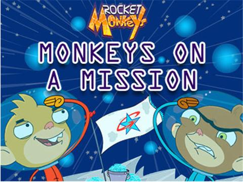 Monkeys on a Mission | Rocket Monkeys