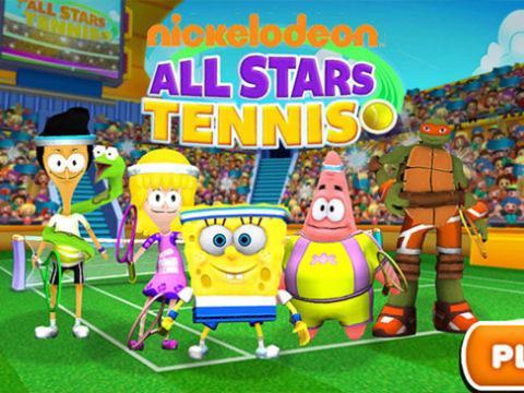 NICKELODEON ALL-STARS TENNIS