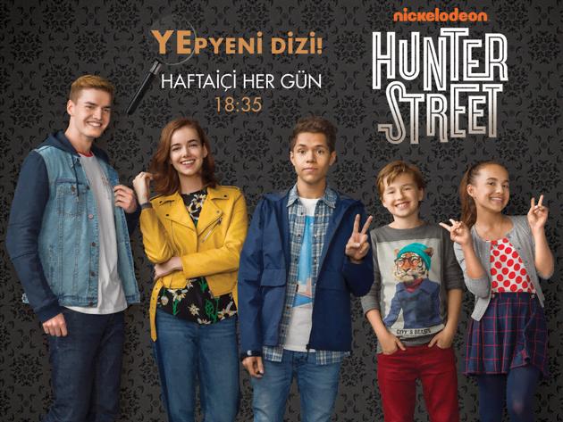 Yepyeni Dizi Hunter Street!