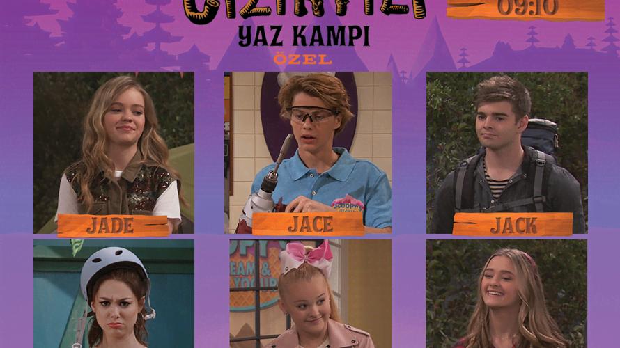 Nickelodeon'ın Cızırtılı Yaz Kampı Özel Bölümü Geliyor!