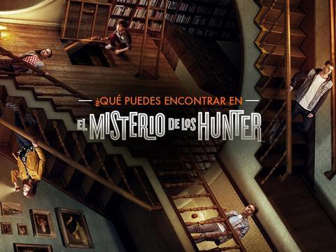 """¿Qué puedes encontrar en """"El misterio de los Hunter""""?"""