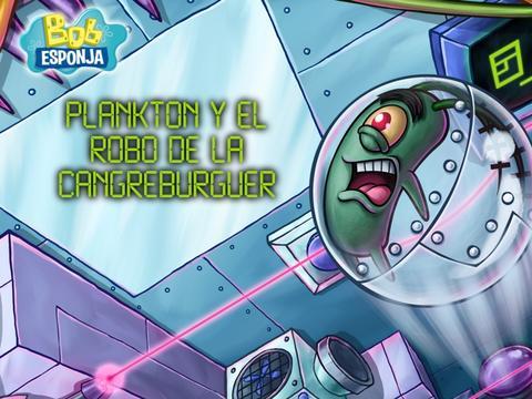 Plankton y el robo de la cangreburguer