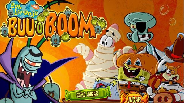 El juego de HALLOWEEN de Bob Esponja Juegos Nickelodeon  Juegos