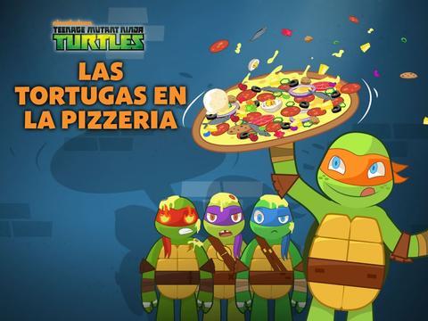 Las Tortugas en la pizzeria