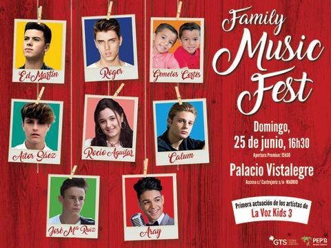 ¡Ven al #FamilyMusicFest!