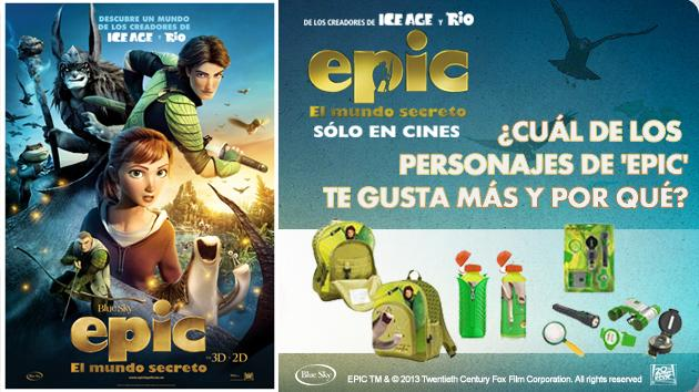 """""""EPIC, EL MUNDO SECRETO"""" ¡¡¡LOS GANADORES!!!"""