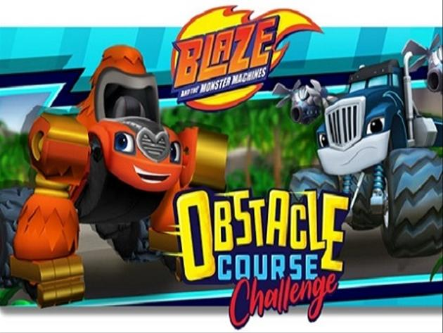 Blaze y los Monster Machines - Obstacle Course
