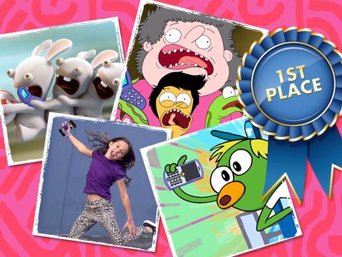 "Nickelodeon: ""Los selfie awards"""