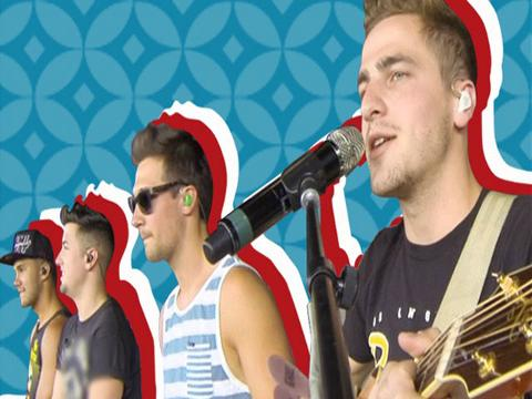 "Big Time Rush: ""Crazy For You live"""