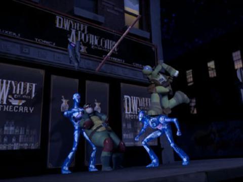 Las Tortugas Ninja: El ataque de los Kraang