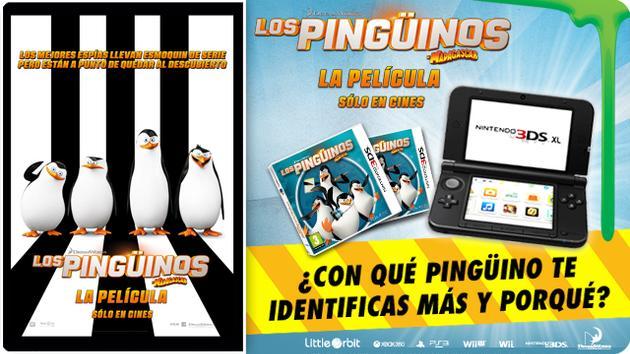 Consigue una consola N3DS con los Pingüinos de Madagascar