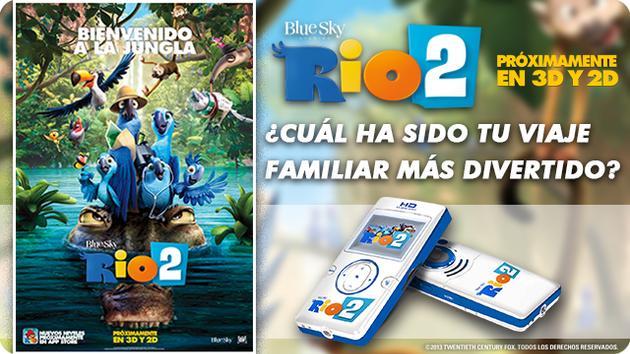RIO 2 TE REGALA 5 CÁMARAS DIGITALES DE LA PELI
