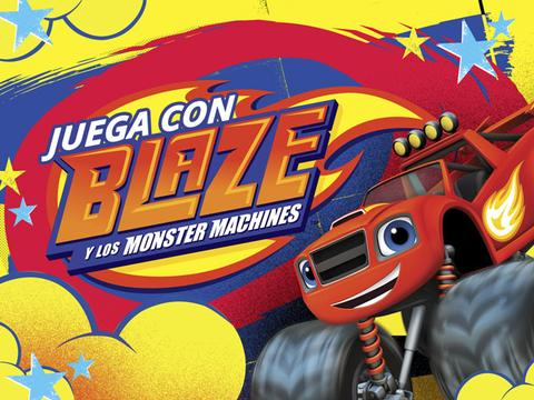 Juega con Blaze y los Monster Machines