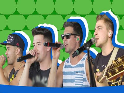 BIG TIME RUSH: Windows Down Live