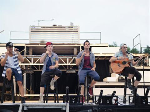 Big Time Rush: Concierto en NewTown