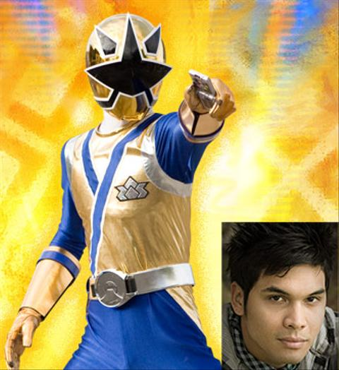 Power Ranger Dorado