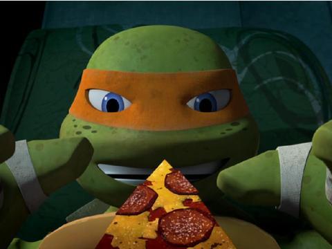 """Las Tortugas Ninja: """"Momentos pizzeros"""""""