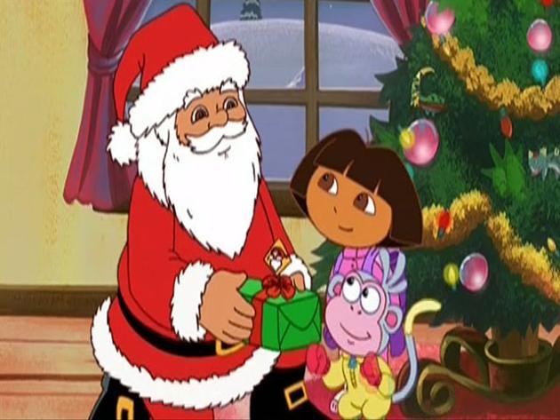 """Dora, la exploradora:""""Un regalo para Papá Noel"""""""