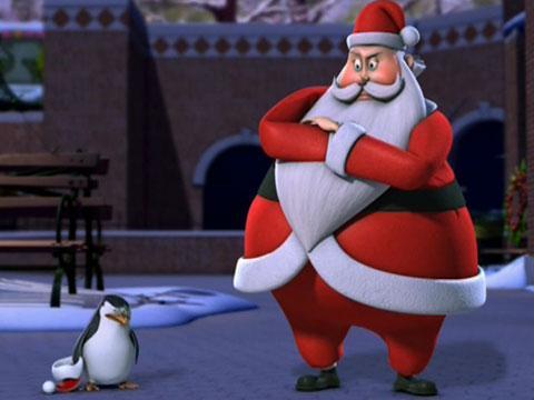 """Los Pinguinos de Madagascar: """"Marimorena antes de Navidad"""""""