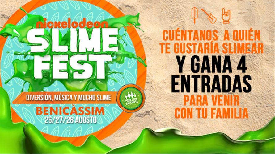 CONCURSO ENTRADAS SLIME FEST