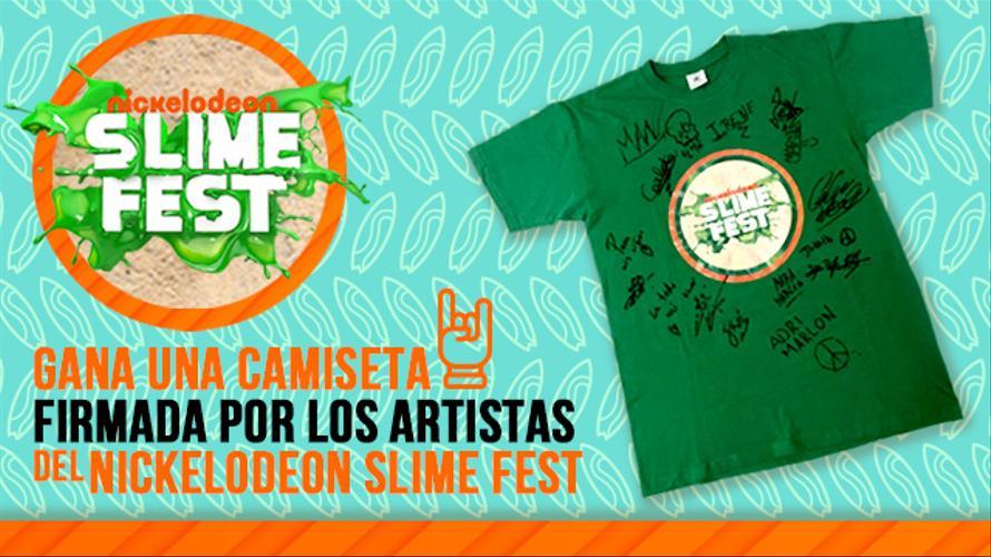 CAMISETAS FIRMADAS SLIME FEST