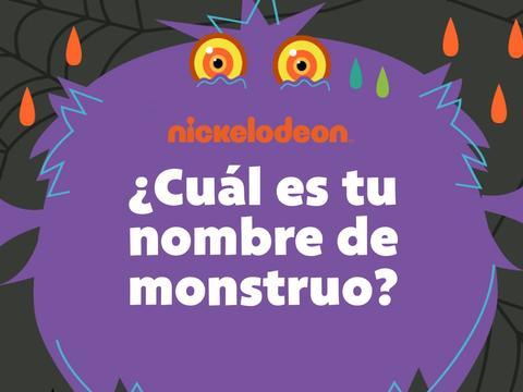 ¿Cuál es tu nombre de monstruo?