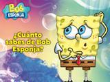 ¿Cuánto sabes de Bob Esponja?