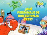 ¿Qué personaje de Bob Esponja eres?