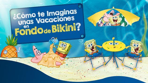 Vacaciones en Fondo de Bikini