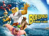 Bob Esponja: Un heroe fuera del agua. ¡Número 1 en taquillas!