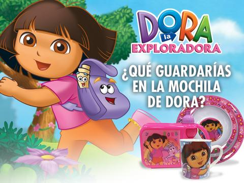 LA MOCHILA DE DORA
