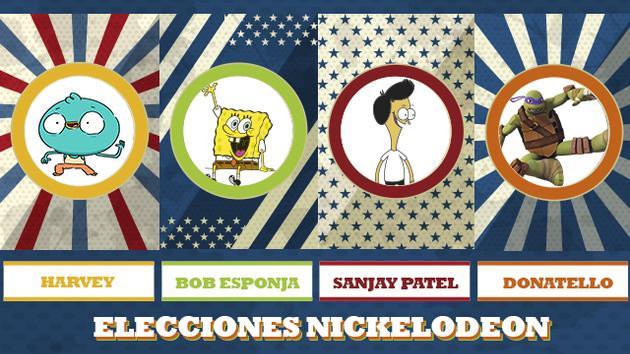 ELECCIONES NICKELODEON