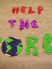 Everybody wants to help the world