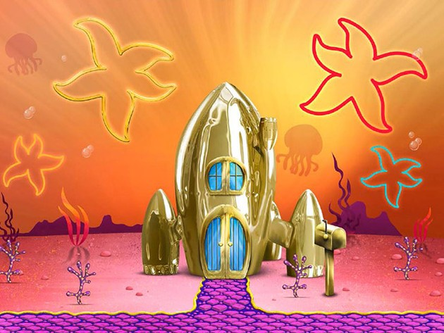 ¡Crea tu casa en el #BarrioDorado de Bob Esponja!