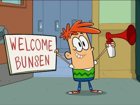 Así fue el primer día de cole de Busen - Bunsen es una bestia