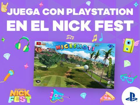 Juega con PlayStation en el Nick Fest