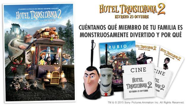 """Concurso """"Hotel Transilvania 2"""""""