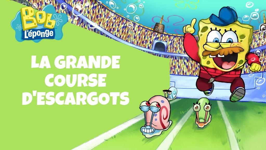 jeu bob l u0026 39  u00e9ponge   la grande course d u0026 39 escargots