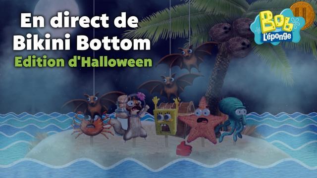 En direct de bikini bottom edition d 39 halloween jeux - Bob l eponge halloween ...