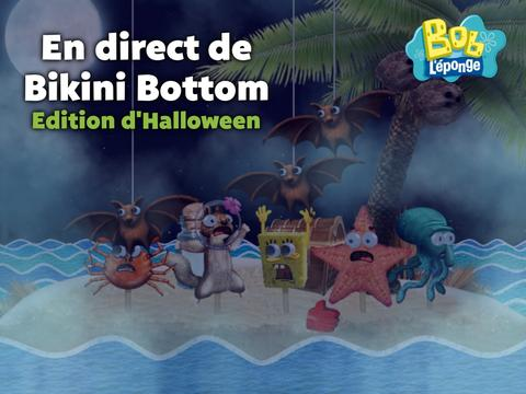 En direct de Bikini Bottom | Edition d'Halloween