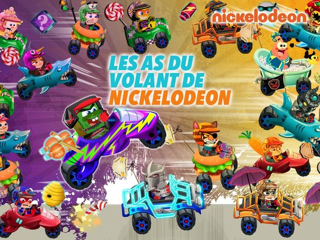 Les as du volant de NICKELODEON
