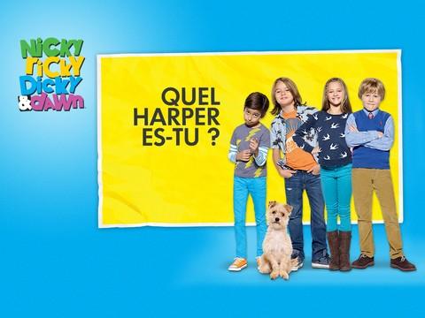 Nicky, Ricky, Dicky & Dawn : Quel Harper es-tu ?