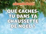 Nickelodeon : Que caches-tu dans ta chaussette de Noël ?
