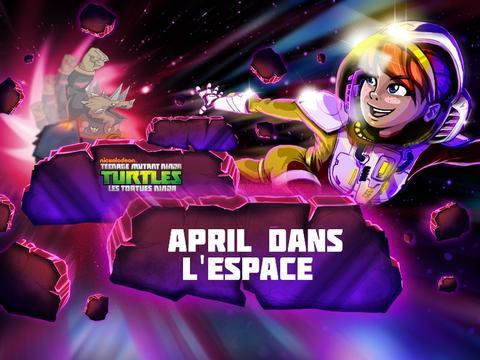 Les Tortues Ninja : April dans l'Espace