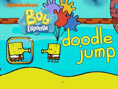 Bob L'Eponge : Doodle Jump Bob l'Eponge