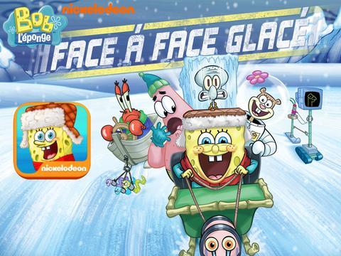 Bob l'éponge : face à face glacé